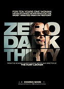 Zero Dark Thirty 2012 poster Jessica Chastain Kathryn Bigelow