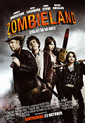 Zombieland 2009 Movie poster Woody Harrelson