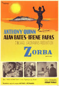 Zorba the Greek 1964 poster Anthony Quinn Michael Cacoyannis