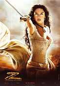 The Legend of Zorro 2005 poster Catherine Zeta-Jones Martin Campbell