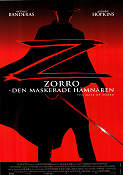 The Mask of Zorro 1998 Antonio Banderas Anthony Hopkins Catherine Zeta-Jones